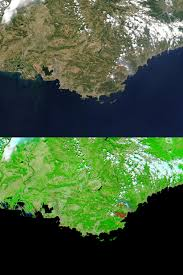 Map South Of France by Forest Fire In Southern France Natural Hazards
