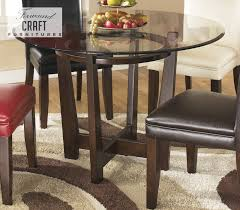 Round Dining Room Set Charrell Brown Round Dining Room Table U2013 Shop Furniture U2013 Online