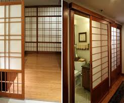 Traditional Japanese Interior by A Traditional Japanese Sliding Doors Living Room Interior Inside