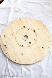 Wire Spool Table No Wake Zone Sign Made From Wire Spool 2 Bees In A Pod