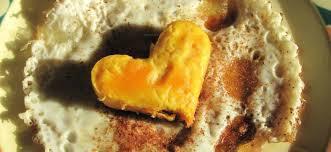 plat cuisiné pas cher recette de st valentin pas cher l oeuf au plat mais un oeuf spécial