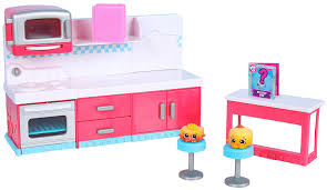 amazon com shopkins chef club spot kitchen playset toys u0026 games