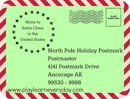 official letters from santa writing letters to santa around the world play and learn every day