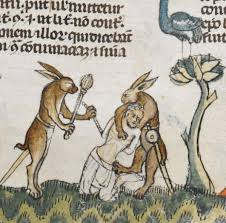rabbit rabbit why are there rabbits in the margins of