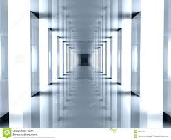futuristic hallway stock photos image 2804053