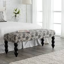 bedroom remarkable bench for end of bed with a simple look