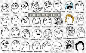 All Meme Faces And Names - vector meme faces all silhouettes on all memes with names