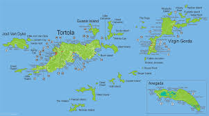 map of the bvi islands map of accommodations jewels of the bvi