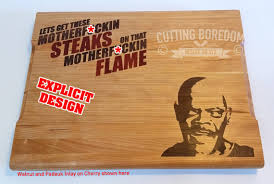 funny cutting boards 9x13 steaks on a flame cutting board funny cutting board