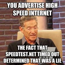 Internet Speed Meme - hotels are liars adviceanimals