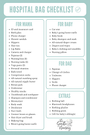 maternity hospital bag checklist everything you need to feel
