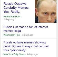 Making Memes - russia making memes illegal russian anti meme law know your meme