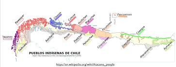 Map Chile Mapping Chile U0027s Indigenous Population Geocurrents
