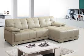 White Fabric Sectional Sofa by Modern Small White Sofa With Sofas White Fabric Small Sectional