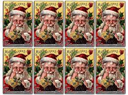 Shabby Chic Shopping by Shabby Chic Vintage Christmas Santa Shabbybeautiful