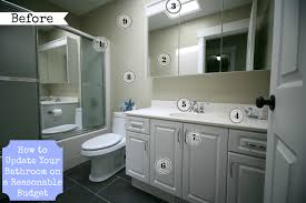 Reasonable Home Decor by Bathroom Amazing Update Bathroom On A Budget Home Decor Interior