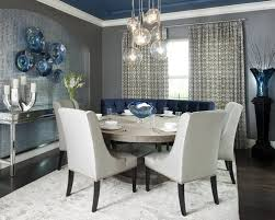 Astounding Navy Blue Dining Rooms  In Rustic Dining Room Table - Navy and white dining room
