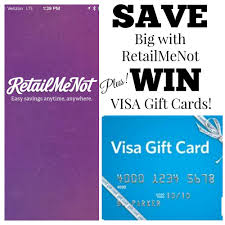 buy discount gift cards retailmenot save big with retail me not plus win visa gift cards from