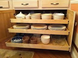 functional kitchen cabinets shelfgenie of austin roll out kitchen shelves create more