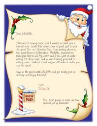 personalized letter from santa personalized letter from santa time books