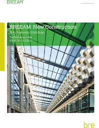 breeam 2011 for new construction has been made possible through