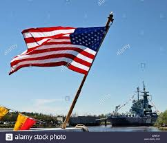 North Carolina Flag History American Flag Old Glory Stars And Stripes Flowing On River With