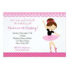 dance party invitations u0026 announcements zazzle
