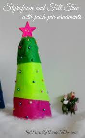 easy peasy christmas craft for kids styrofoam christmas tree