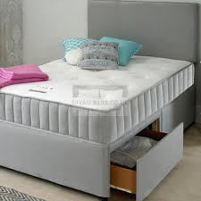 headboard reading ls bed chelsea grey fabric divan set with headboard and comfort spring
