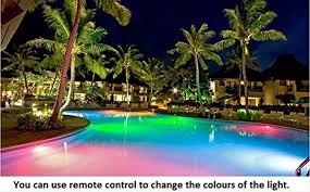Pool Led Light Strips by Amazon Com Cheesea Led Swimming Pool Light 7 Colors Changing