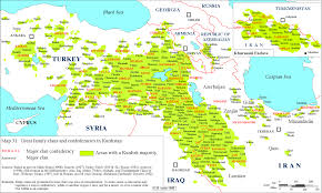 Indo European Languages Family Tree Map by Great Family Clans And Confederacies In Kurdistan Kurdish
