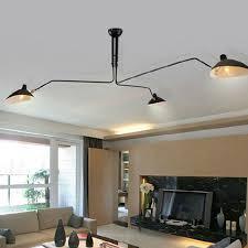 Vintage Ceiling Lights Aliexpress Com Buy Vintage Ceiling Lights Black Iron For Living