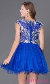 cap sleeve short high neck dress promgirl
