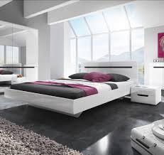 Schlafzimmer Komplett Bett 180x200 Bett Doppelbett Ehebett Bettgestell Nakos 180x200cm Weiß Weiß