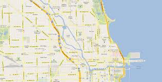 Bucktown Chicago Map by Contact Orgonami