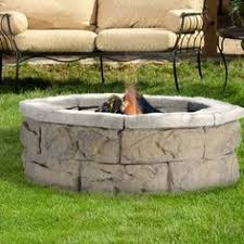 Stone Fire Pit Kits by Fossil Stone Fire Pit Products Pinterest Fire Stones And