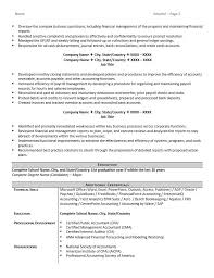 name resume accountant resume example and 5 great tips to writing one zipjob
