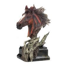 Driftwood Stallion Sculpture Wholesale At Koehler Home Decor