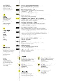Resume Samples For Designers by 318 Best Originele Cv U0027s Images On Pinterest Design Resume