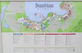 Map Of Downtown Disney Orlando by Maps Planwdw Com