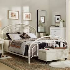 curved bed frame lacey round curved double top arches victorian iron bed by inspire