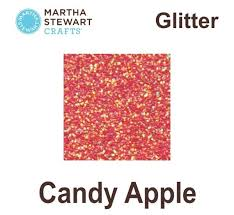 martha stewart paint ms craft glitter candy apple pl32153