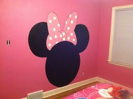 hand painted minnie mouse headboard emily loves it for the hand painted minnie mouse headboard emily loves it