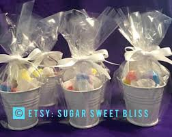 Salt Water Taffy Wedding Favor Bucket Favors Etsy