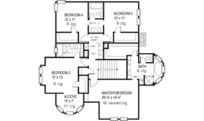 style house floor plans style house plan 4 beds 3 5 baths 2772 sq ft plan 410