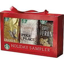 coffee gift sets starbucks seasonal coffee sler gift set 6 bx staples