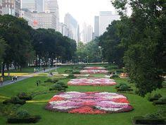 Designing Flower Beds Flower Bed Designs Flower Bed In The Park Free Stock Photo