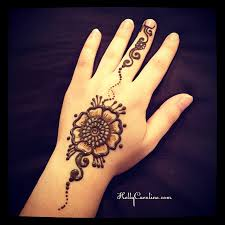 collection of 25 floral henna design on