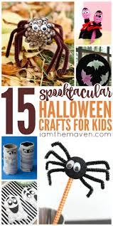 try these spooktacular halloween crafts for kids i am the maven