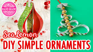 simple diy christmas ornaments with sea lemon hgtv handmade